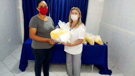 Prefeitura de Bernardino distribui EPI's para agentes ACS e ACE